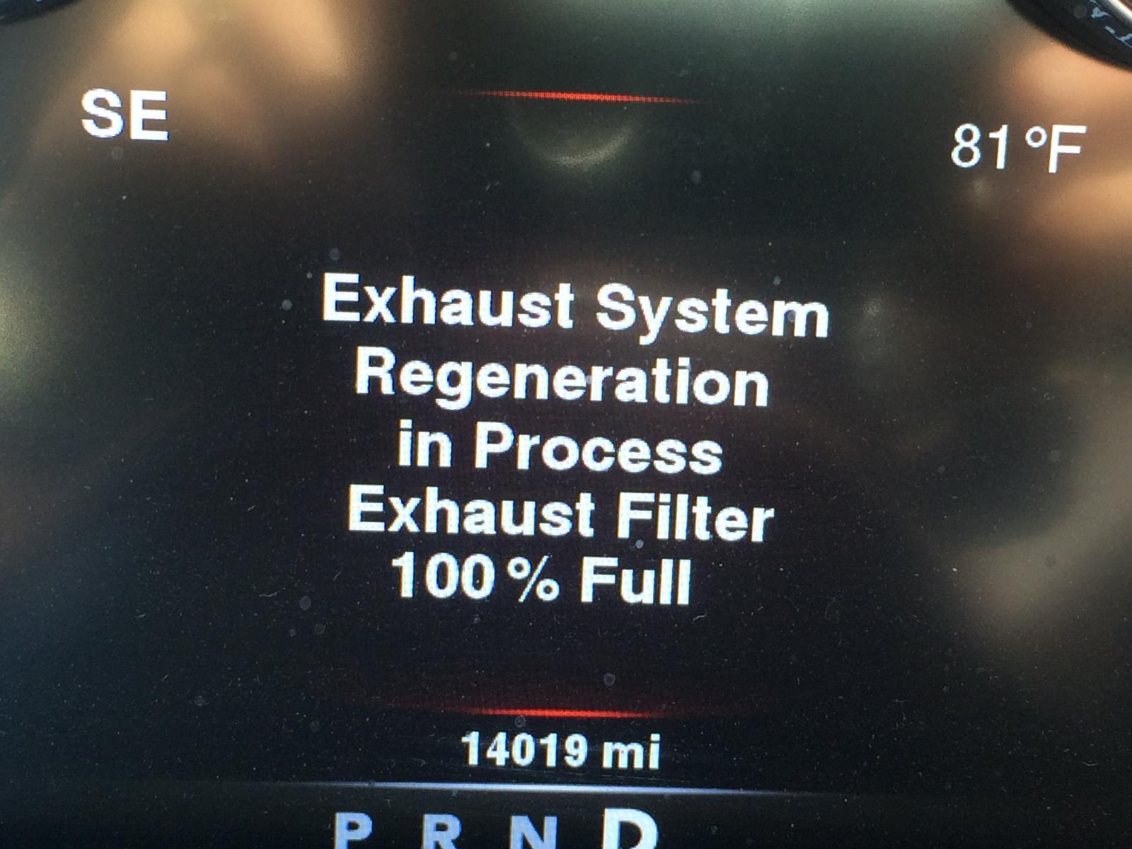 Exhaust System Regeneration - Ram 1500 Diesel Forum